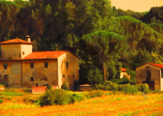 Tuscan Farm - Richard Anello